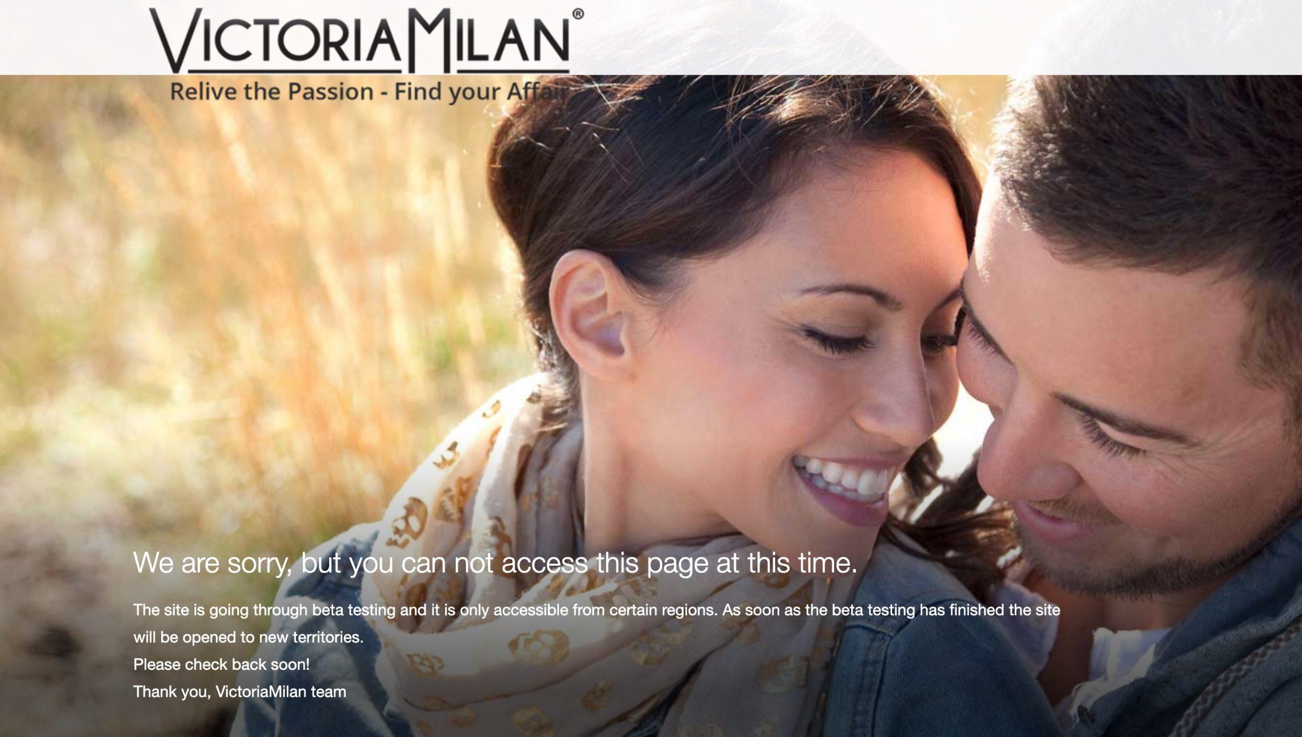 VictoriaMilan main page
